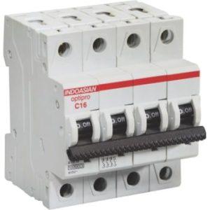 Single Pole miniature circuit breaker mcb