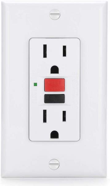 ground fault circuit interrupter gfci outlet